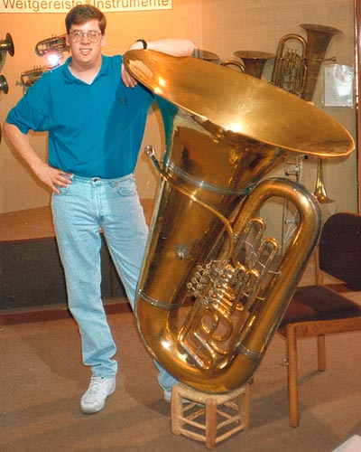 Brass trombone porn